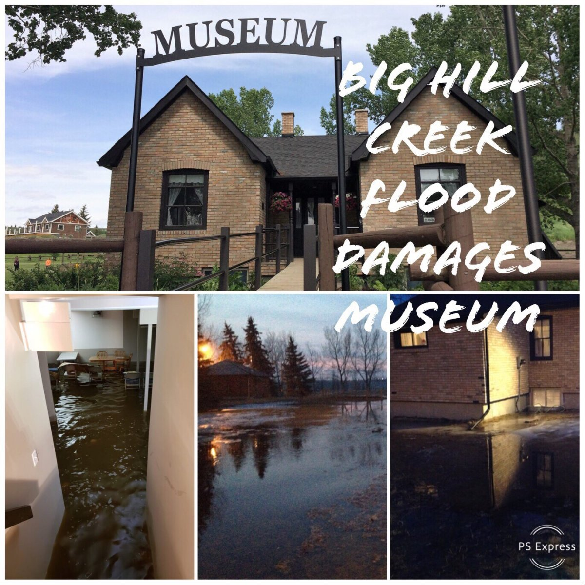 My first visit to the Museum after flood repairs.